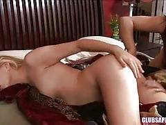 ClubSapphic - College Brunettes Lily Cade and Sinn Sage