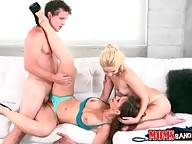 Robby Fucks Goldie And Her Step Mom Syren 3