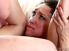 Lesbian Adventures - Wet Panties Trib Volume 03, Scene #04. Sinn Sage, Vicki Chase