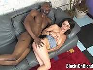 blacks on blondes - Marley Jane Anal