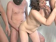 Mature nymphos banged by the kinky gang